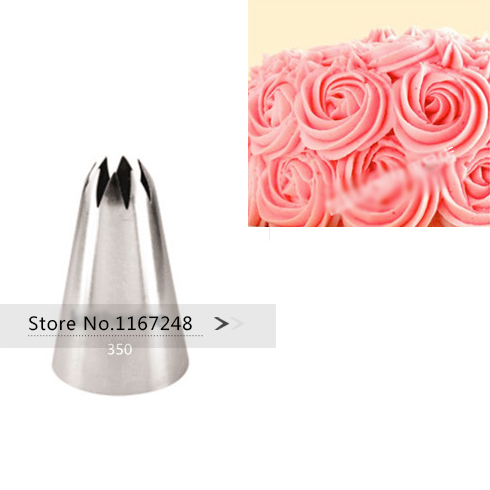 1c Large Size New Decorating Tips Icing Piping Nozzles