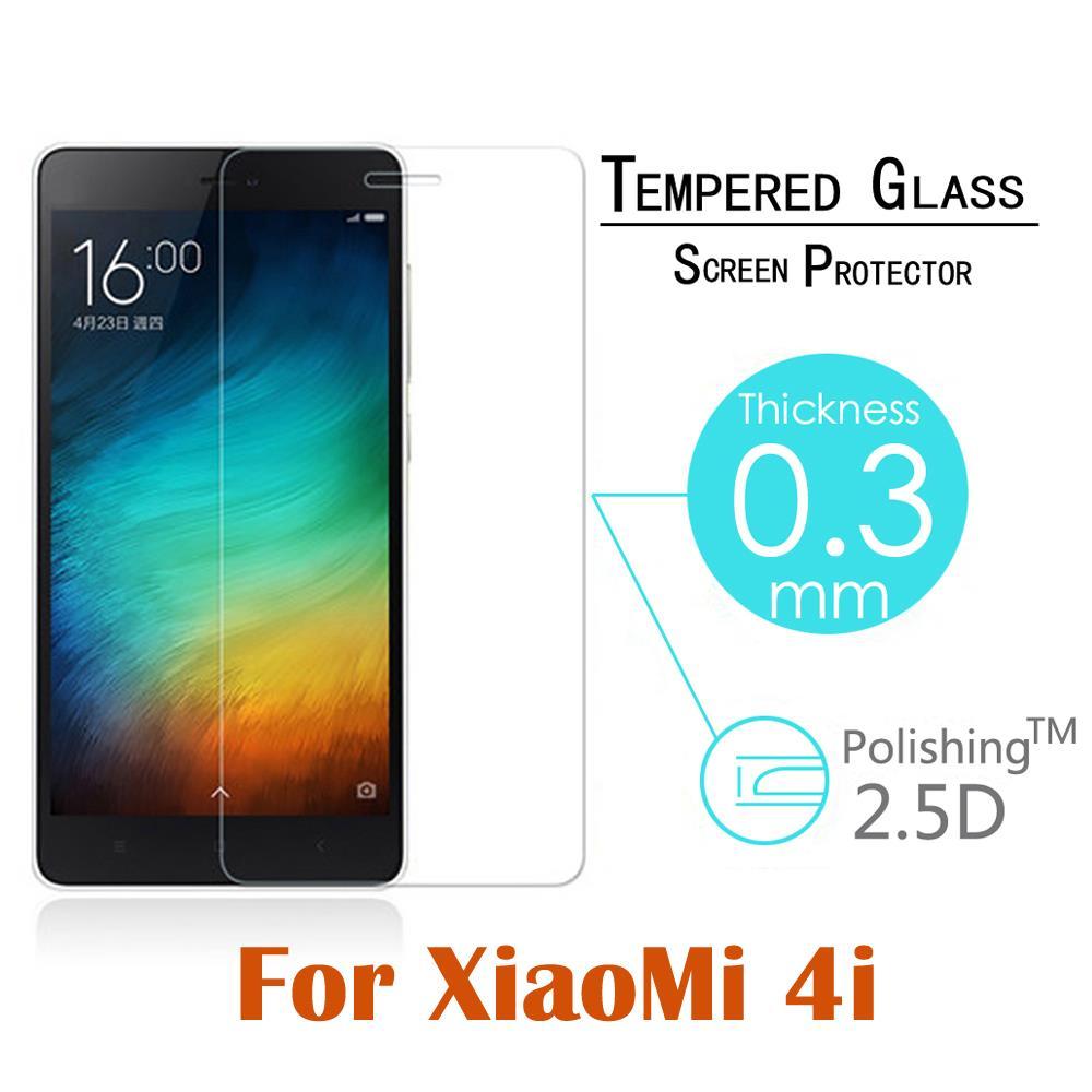 Купить Телефоны и Телекоммуникации  9H Arc Tempered Glass for Xiaomi Mi4i 5.0