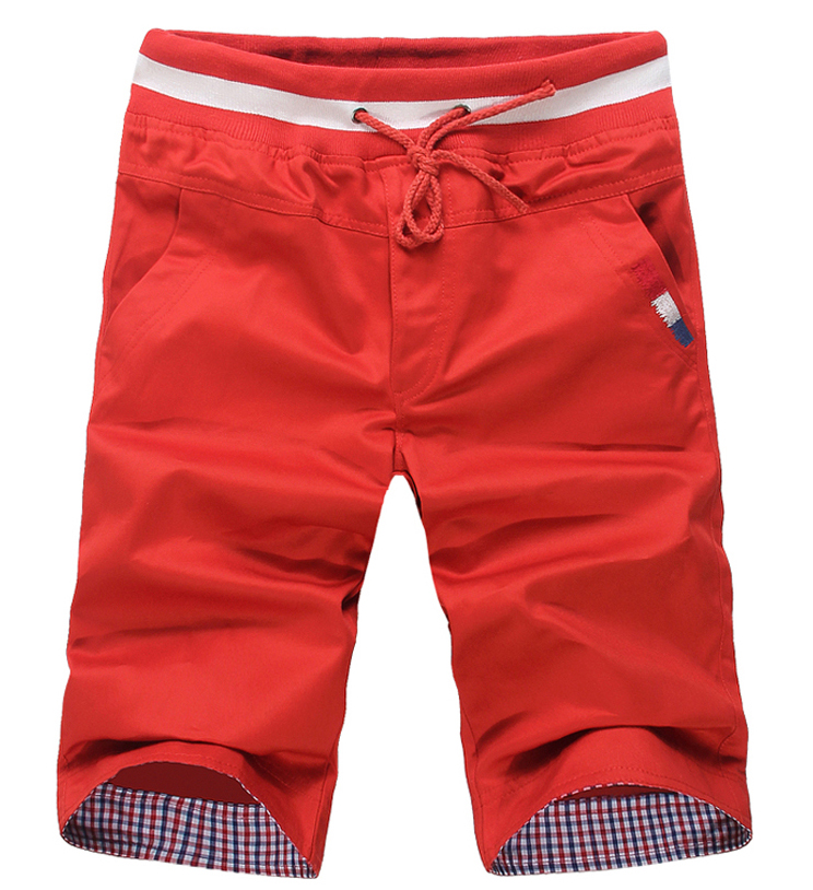 sales fashion cotton trousers 8 colors solid beach shorts men's sport new 2015 summer casual man - Daly Fashoin Co.,LTD store