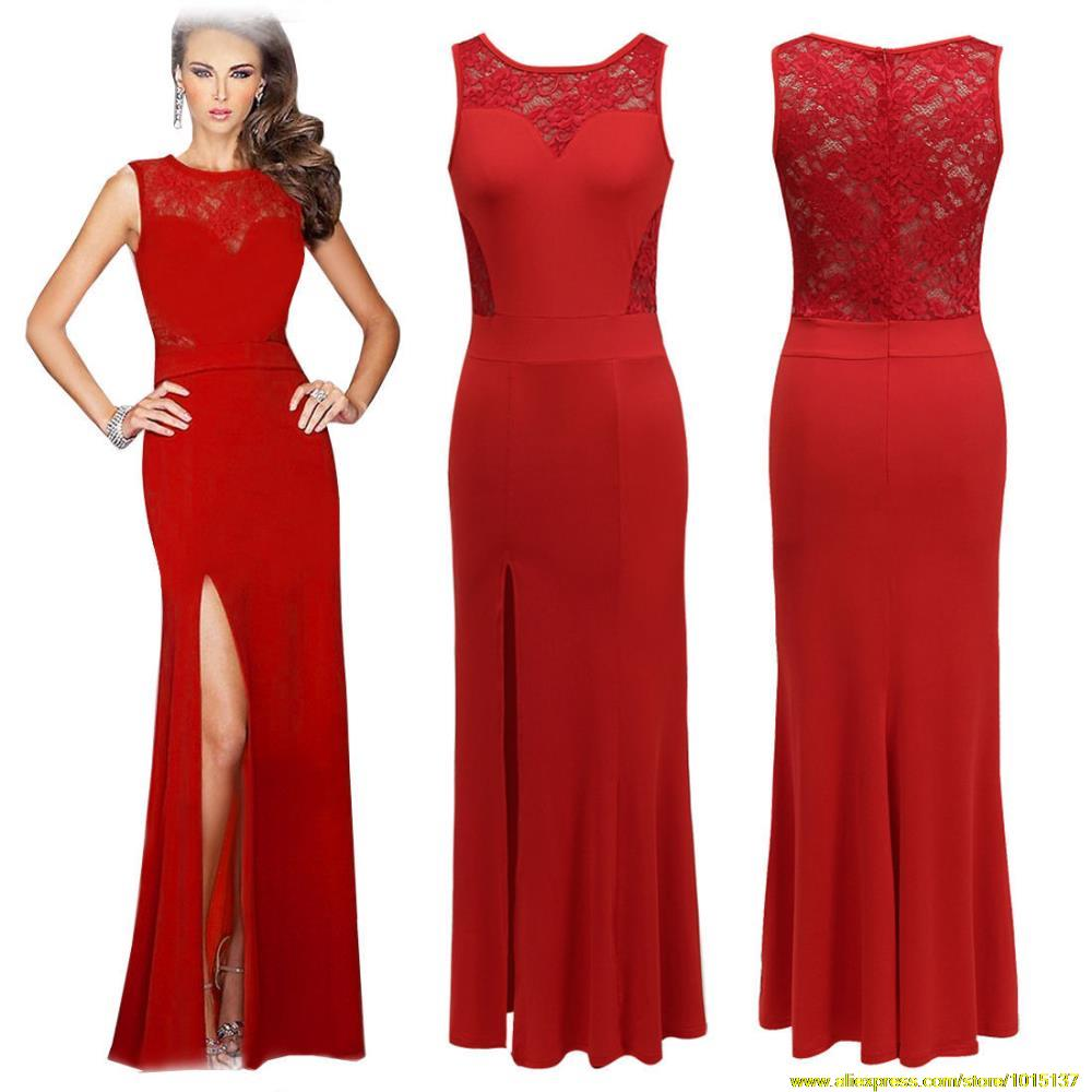 Elegant Dress Beaded A Line Evening Dresses Long Formal Party Clothing Women