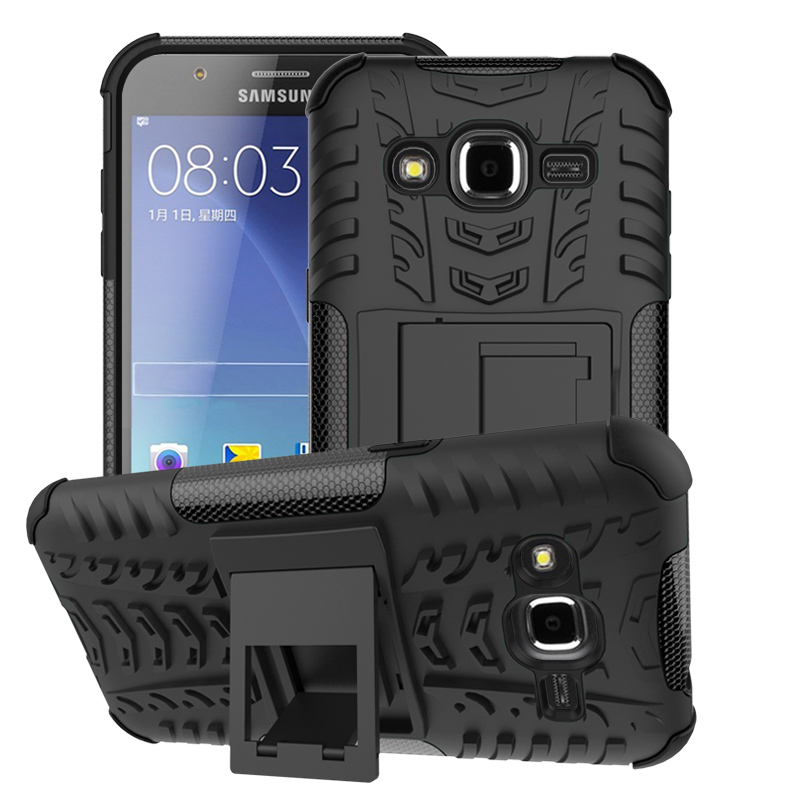 Dual-Layer Shock Proof Rubber Full Protective Case Samsung Fashion J2 Prime G532F G532 G532H Coque Fundas