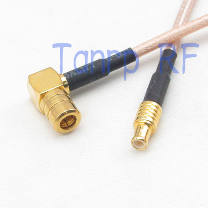 6in SMB female jack right angle to MCX male plug  RF adapter connector 15CM Pigtail coaxial jumper cable RG316 extension cord<br><br>Aliexpress