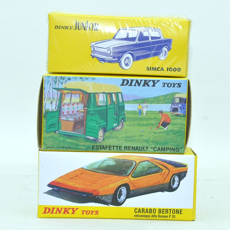 First choose for collect DINKY Atlas toys three cars Alloy Diecast Antique model car 1/43 car model for gift or collect(China (Mainland))