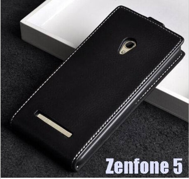 GD2 Luxury Business Style Flip Leather Case For Asus Zenfone 5 Cover Magnetic Pouch + A501CG Screen Protector(Not for A502CG)(China (Mainland))