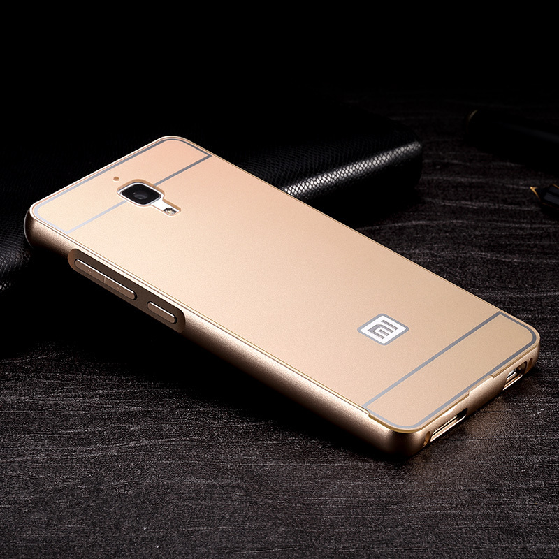 phone case xiaomi mi4 mi3 mi4i mi4c mi4s redmi 2 2a 3 pro note alumium metal frame pc back cover luxury hard - Shenzhen YD Phone Bags & Cases store