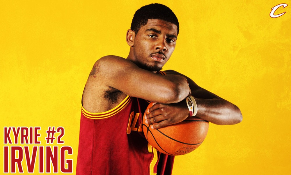 "Kyrie Irving Basketball Star Fabric poster 40"" x 24"" 21""X13""--09(China (Mainland))"