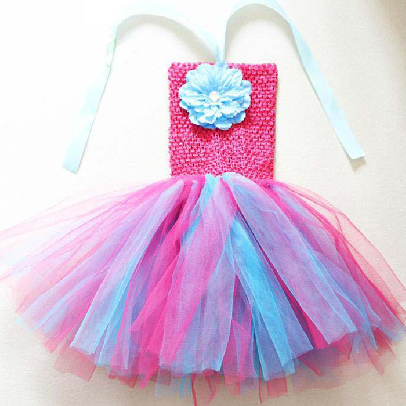 Flower Children Dress(1-8y) New Summer 2013 Baby/Infant Girls Princess Dress children/kids Wedding tennis Tutu Dresses(China (Mainland))