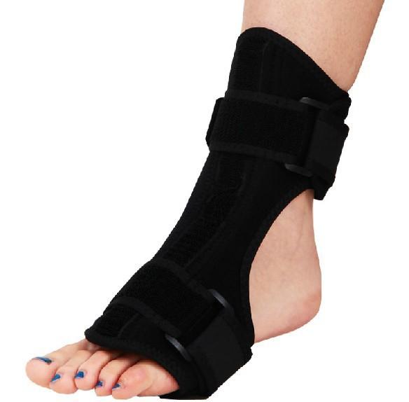 Foot Drop Orthosis Support Nightime Brace Dorsal Aluminum Splint Plantar Fasciitis Ankle Sprain Achilles Tendinitis Z3AA003