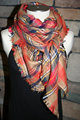 Plaid Tartan Blanket Scarf Fall Orange Plaid Scarf Christmas Gift Scarves Za Style Plaid 2014 Bloggers
