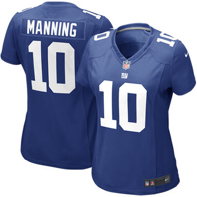 2016 Women New York Giants, #10 Eli Manning #13 Odell Beckham Jr, Ladies white blue 100% stitched logo,free shipping(China (Mainland))