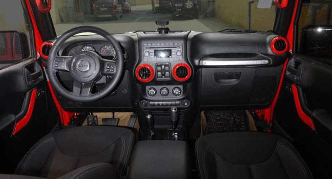 Jeep Interior Accessories Gallery