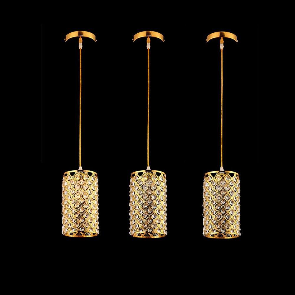 Getop 1pcs/set Restaurant Lamp Chandelier Modern Creative Single-head Pendant Lamp Dining Room Corridor Bar Crystal Chandeliers(China (Mainland))