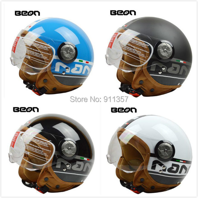 Luxury fashion design vintage BEON capacete motorcycle helmet ,made authorization of Holland men women motor bike half helmet(China (Mainland))