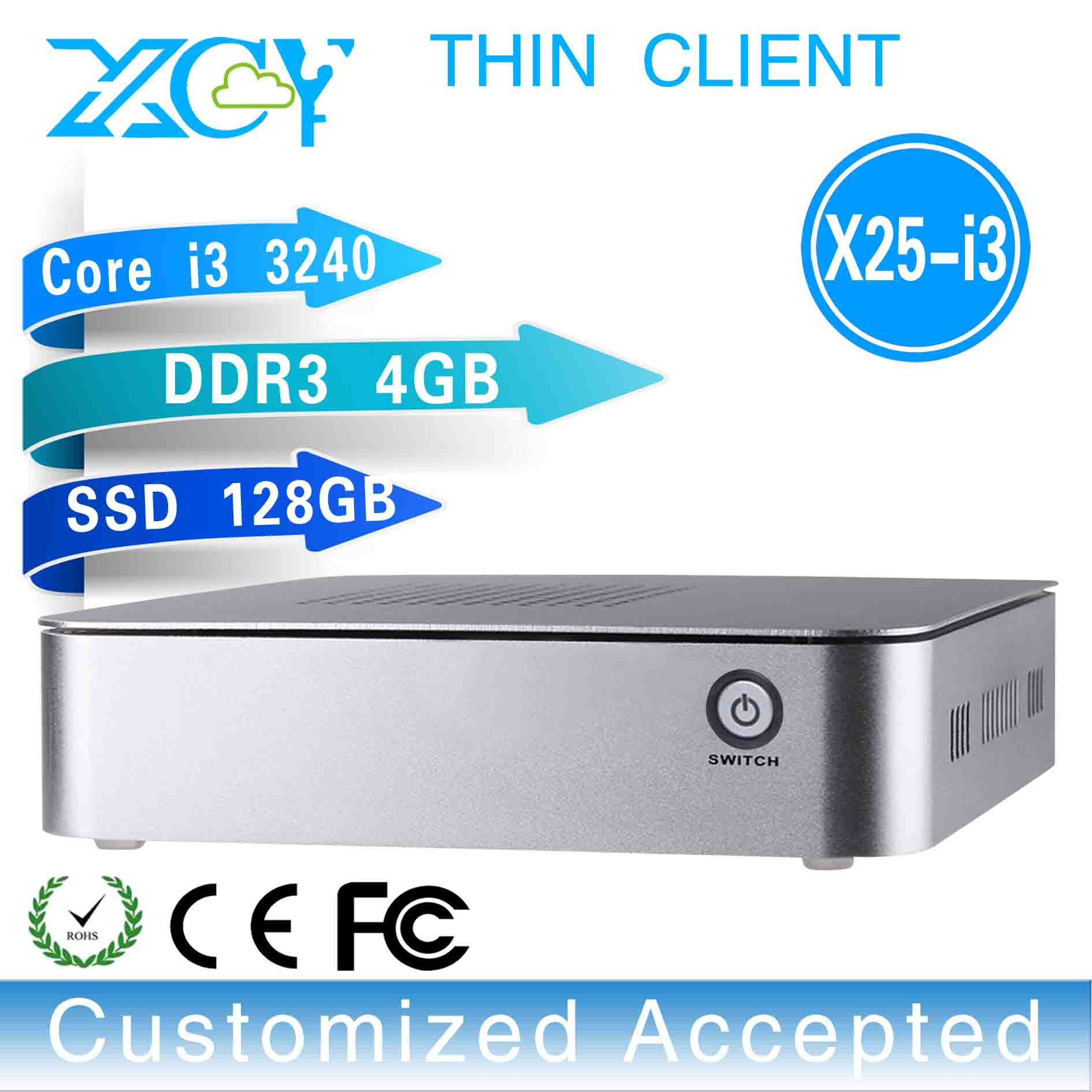 New arrival!!X25-I3, mini linux server desktop pc support Home Premium and embedded(China (Mainland))
