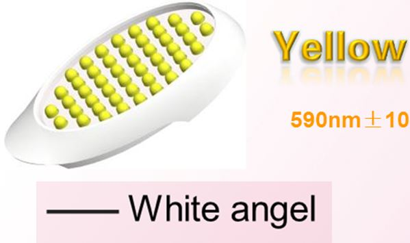 6 colors head (yellow light link) LED light therapy PDT for acne wrinkle anti-ageing whitening scar home use device beauty(China (Mainland))