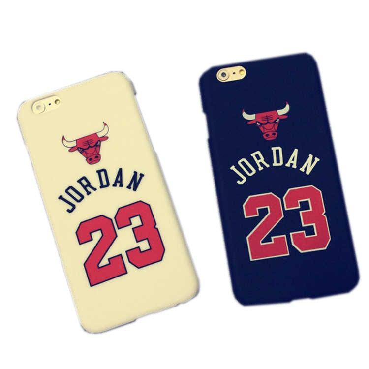 Luxury Phone Cases Jordan Chicago Bulls Case for iPhone 5 5s 6 6 Plus PC Style Protective Back Cover Case Mobile Phone Cover