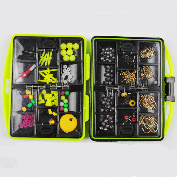 Rock Fishing Accessories Box Surf Casting fishing tackle box Swivel Jig Hooks fishing tools set 568(China (Mainland))