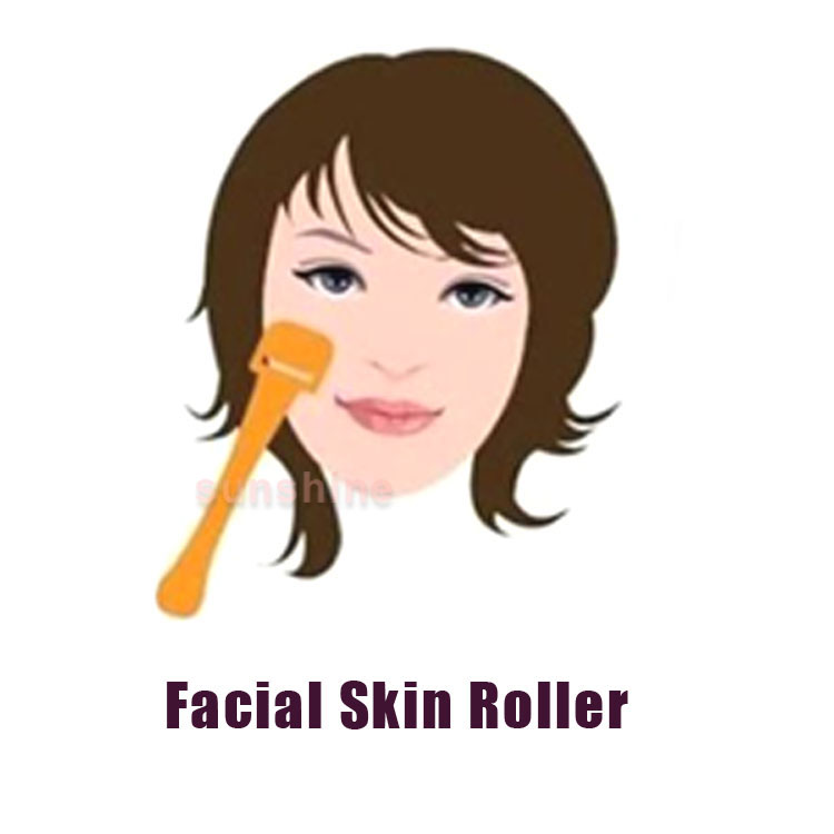 Home use facial massage roller facial lifting anti-aging skin care roller(China (Mainland))