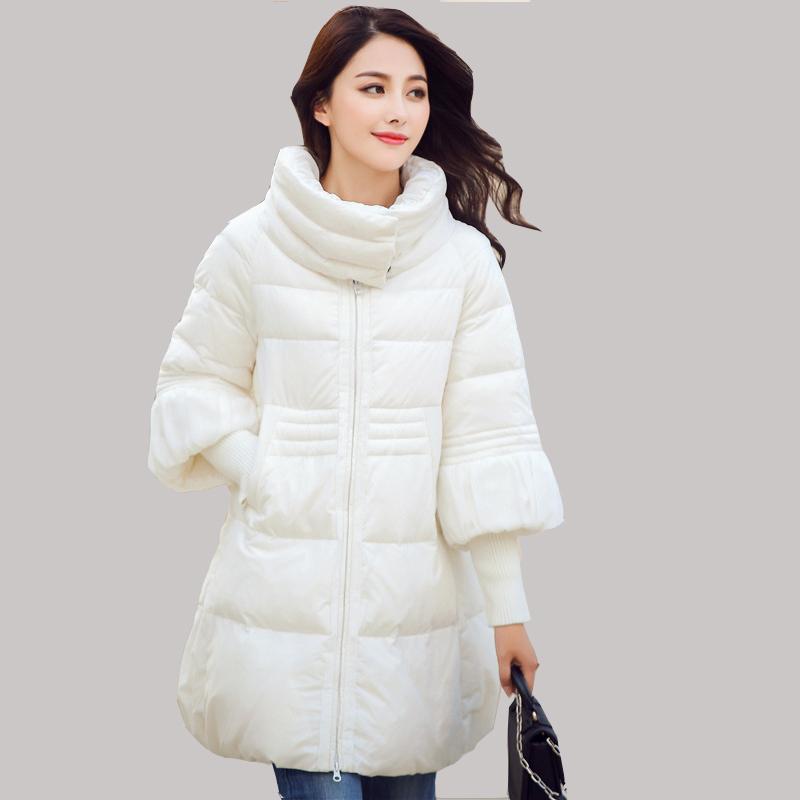 Здесь можно купить  New winter cloak and long sections Korean version of the big swing down jacket women L0042  Одежда и аксессуары