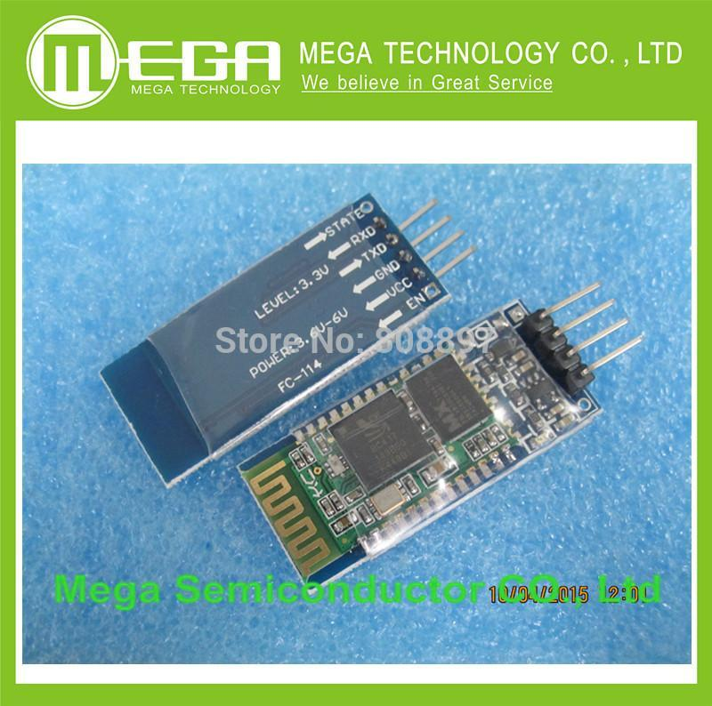!!1pcs,HC-06 HC06 JY-MCU BT BOARD V1.05 4pin Bluetooth serial pass-through wireless serial communication module Bluetooth module(China (Mainland))