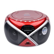 Portable Bluetooth CD/MP3 CD Radio Boombox Speaker Player USB SD MMC Auxiliary Multimedia Player (China (Mainland))