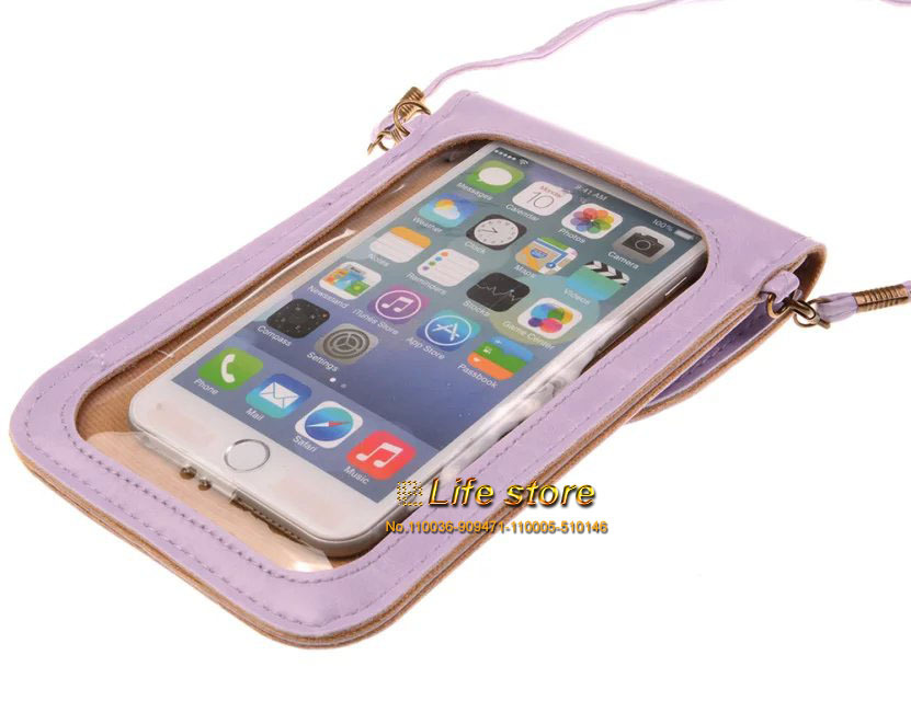 Touch Screen Leather Case Wallet Lady Strap Phone Case Universal For OnePlus One Xiaomi Mi Note Pro Mi Note Xiaomi Redmi Note 2(China (Mainland))