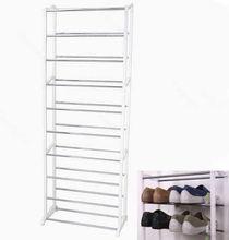 D19+New Design Housekeeping Home 10 Shoe Boot Organizer Storage Rack Stand Shelf (China (Mainland))