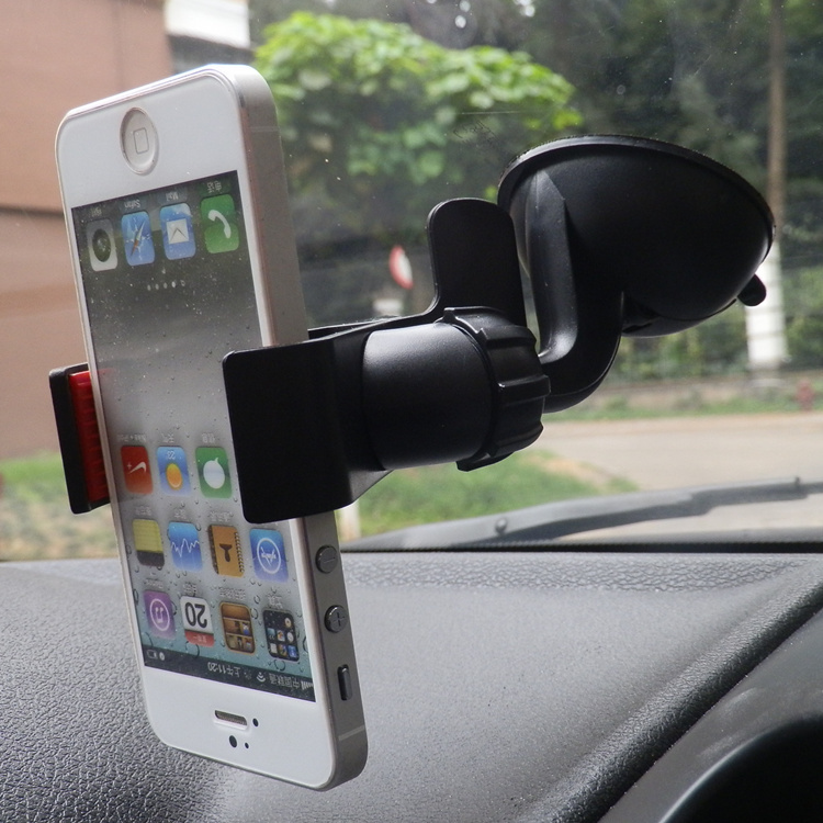 hot sale universal magnet windshield car phone holder stand for iphone 4 5 6 plus for samsung s3 s4 s5 s6 gps(China (Mainland))