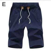 2018 Verão Homens Shorts Baggy Ginásio Jogger Suor Esportes Calças Curtas Praia Lace-up Tiro Solto Calças Plus Size m/L/XL/2XL/3XL/4XL(China)