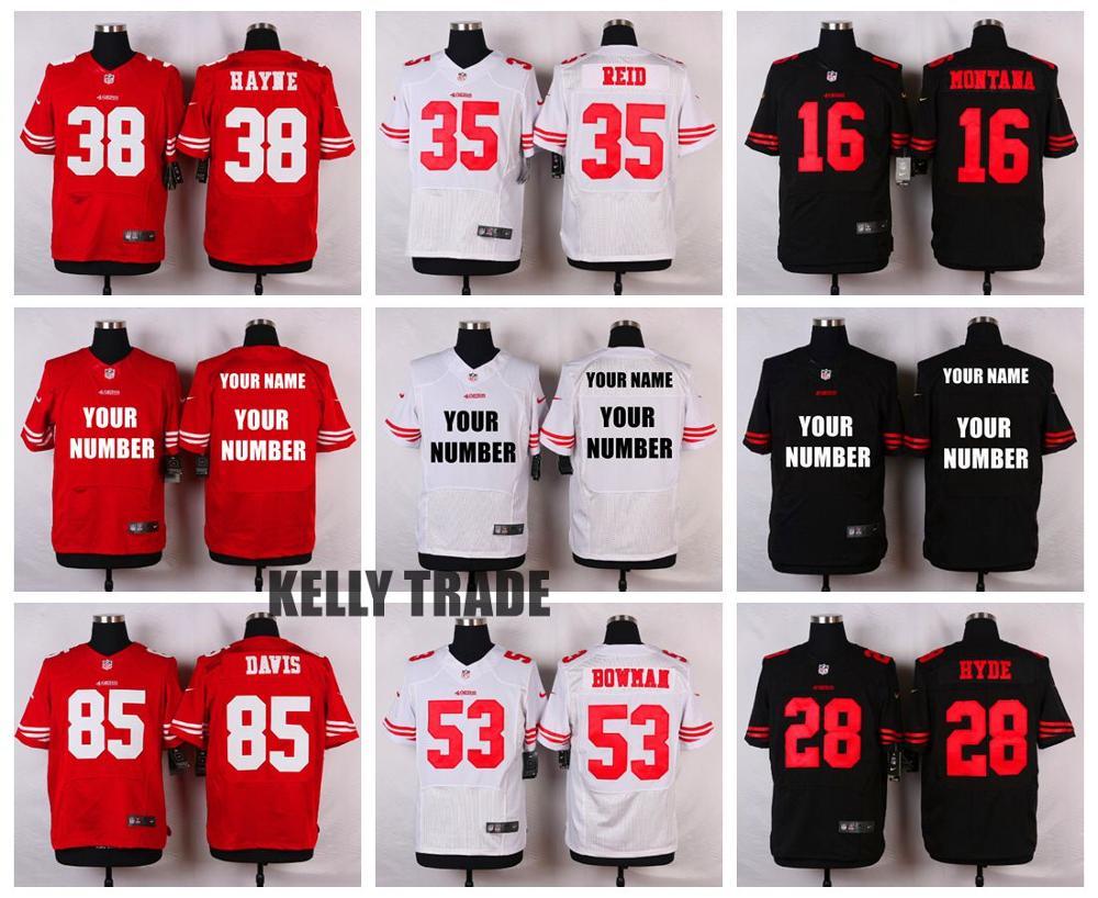 San Francisco 49ers Vernon Davis WOMEN Jerseys