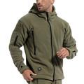 US Military Fleece Tactical Jacket Men Thermal Outdoors Polartec Sport Hooded Coat Militar Softshell Hiking Outdoor