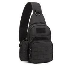 2016 New Men 1000D Nylon Military Travel Water Bottle Shoulder Messenger Sling Pack Chest Waterproof Bag(China (Mainland))