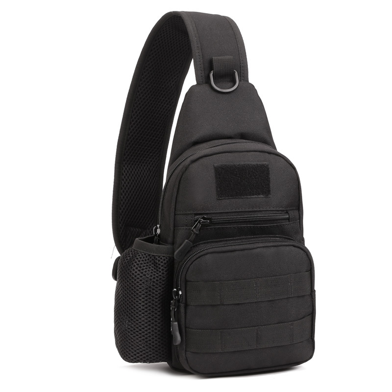 2016 New Men 1000D Nylon Military Tactical Travel Water Bottle Shoulder Messenger Sling Pack Chest Waterproof Outdoor Sports Bag(China (Mainland))