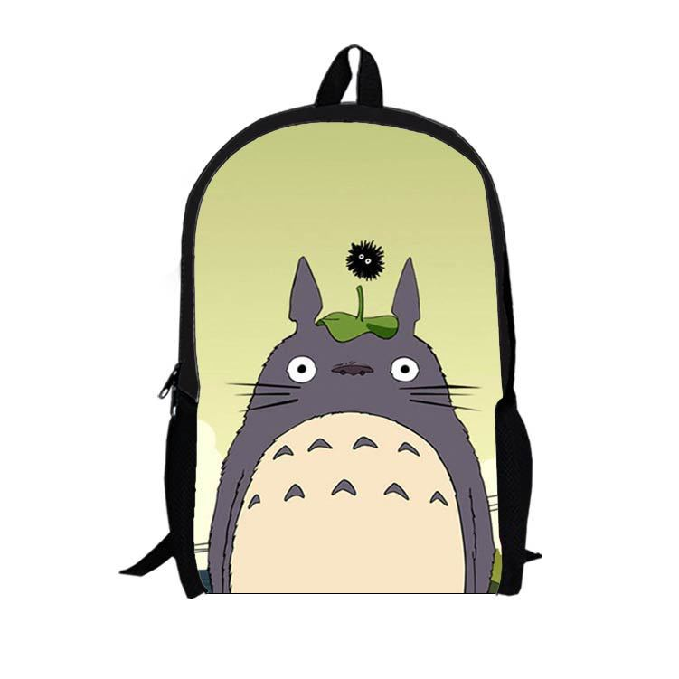 16-inch multifunction cartoon Totoro backpack shoulder bag personalized backpack schoolbag T11(China (Mainland))