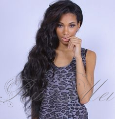 celebrity hairstyle for black women glueless full lace