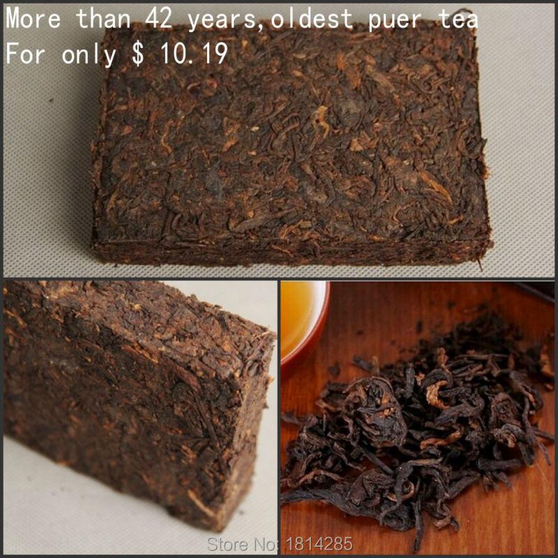 Made in 1973 ripe pu er tea,250g oldest puer tea,green health food,Tea cake, puerh tea,ancient tree,free shipping(China (Mainland))