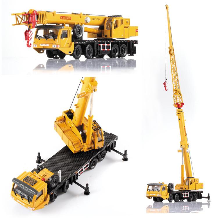 1 Pcs Alloy Engineering Vehicle Material Handling Vehicle Heavy Cranes Manipulator Arm Telescopic Boom Rotation Car Model Toys(China (Mainland))