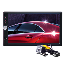 Autoradio 2 Din 7 Inch Car Stereo FM Radio MP5 Player With HD Rear View Camera For BMW e46 Opel Astra h VW Golf Bora Ford Focus2(China (Mainland))