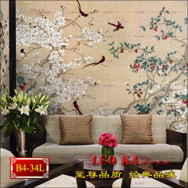 Special wallpaper wallpaper bedroom living room TV wall mural American landscape nonwoven wallpaper seamless seamless linen<br><br>Aliexpress
