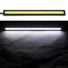 1pc 17cm  6w Auto DRL Daytime Driving Running  Light  waterproof COB Chip LED Car Styling Daylight ,Paking Fog Bar Lamp(China (Mainland))