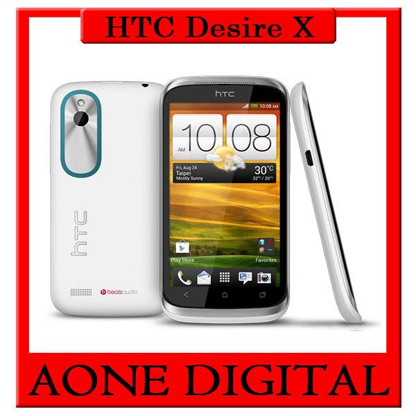 Original HTC Desire X T328e Qualcomm Dual Core GPS WIFI 5MP Android 4.0 3G Smart Phone(China (Mainland))