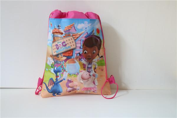 The Amazing Minion&Spiderman&Avengers Children Cartoon Drawstring Bag Backpacks Kids School Bags Mochila Infantil For Gift(China (Mainland))