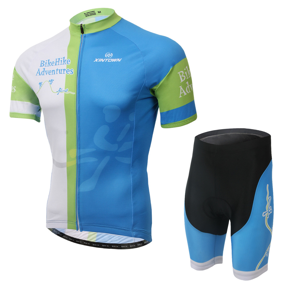 2015 men's xintown new risks on short suit sports apparel Cycling Team Edition breathable wicking pajamas(China (Mainland))