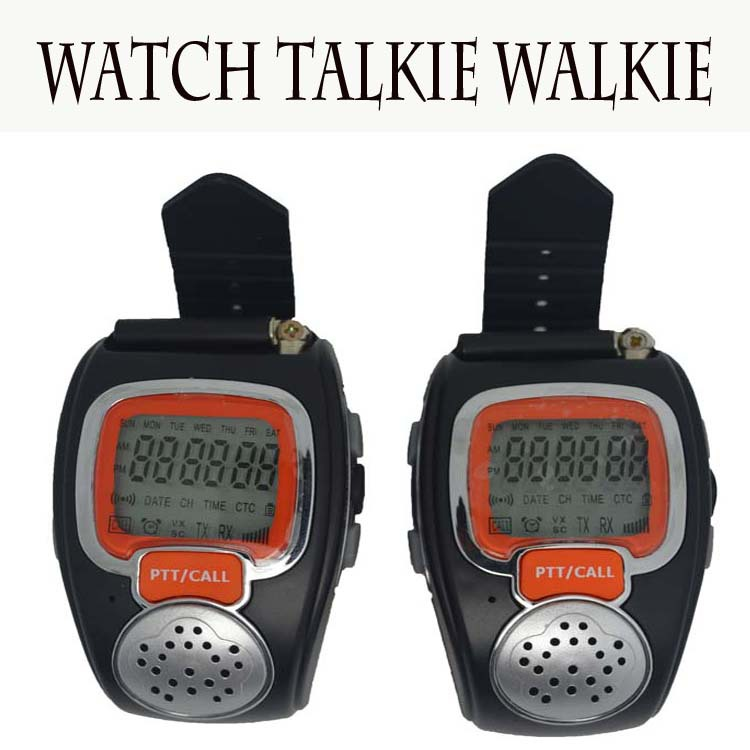 2015 New Arrivals 1 pair RD-008B 20 Channels Digital Walkie Talkie Two-Way Radio Watch Walkie Talkie for Outdoor Sport Hiking(China (Mainland))