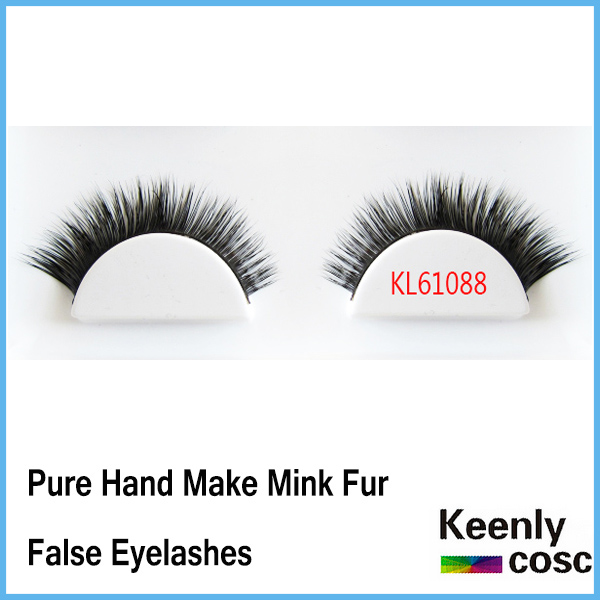 Free Shipping! Private label packaging 100% siberian real mink fur handcrafted mink eyelash extension 10 pairs/box<br><br>Aliexpress