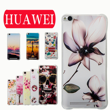 New Fashion Huawei Case Cover 3D Matte Pudding Soft TPU huawei P8 MATE7 honor 4x 5 5s Honor 5X Play - JinYang Da Trading Co., Ltd. store