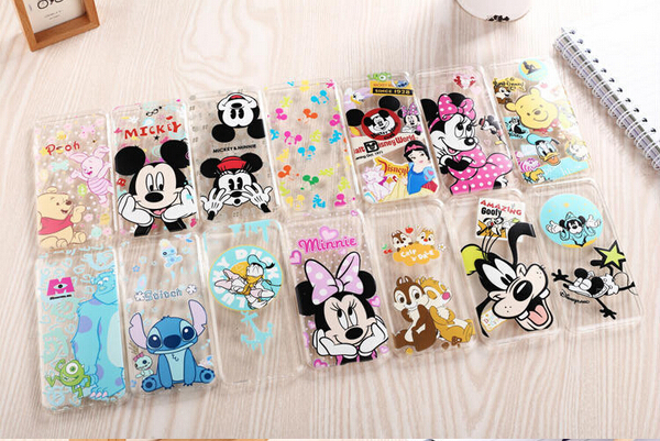 fashion Ultrathin TPU soft back case cover iphone 5 5S cartoon duck mickey minnie Snow White cell phone cases covers - xiaoxuan store 24 hours on line