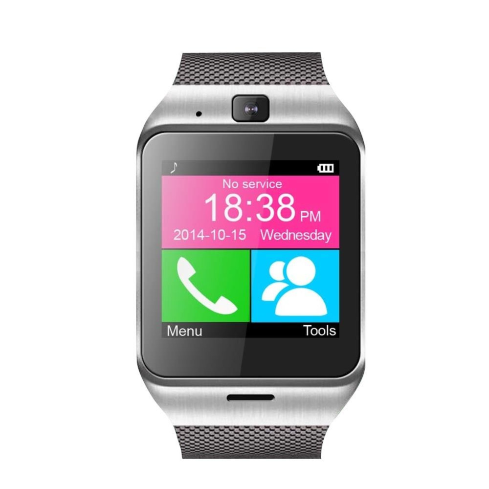 2016 New Aplus GV18 Reloj Sync Notifier Support Sim Card GPS Bluetooth Connectivity Apple iphone Android Phone Smartwatch Watch(China (Mainland))