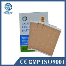 Hot Selling 12 Pcs 2 Boxes Chinese Medical Pain Relief Plaster Health Care Adhesive Capsicum Pain