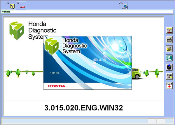 Honda HDS With Double Board Software 1